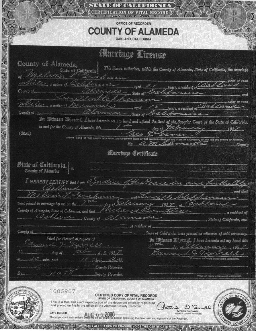 Alameda county marriage records, dallas jail