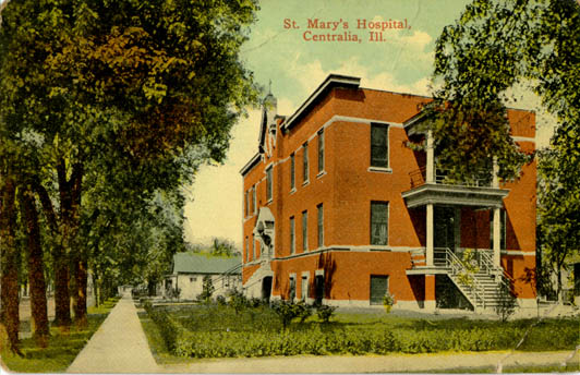 Penny Postcards From Marion County Illinois