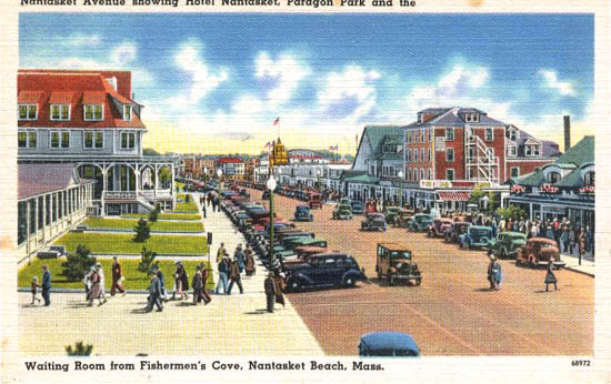 Penny Postcards From Plymouth County Massachusetts