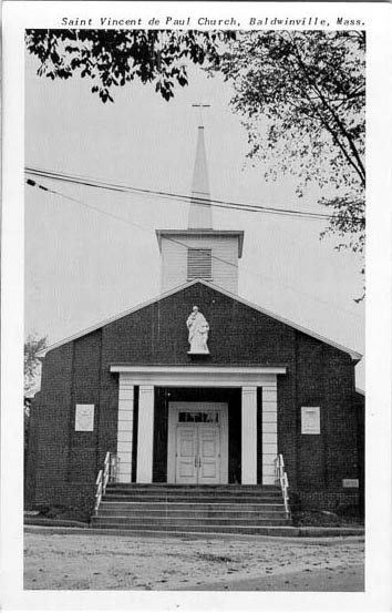 Penny Postcards From Worcester County Massachusetts