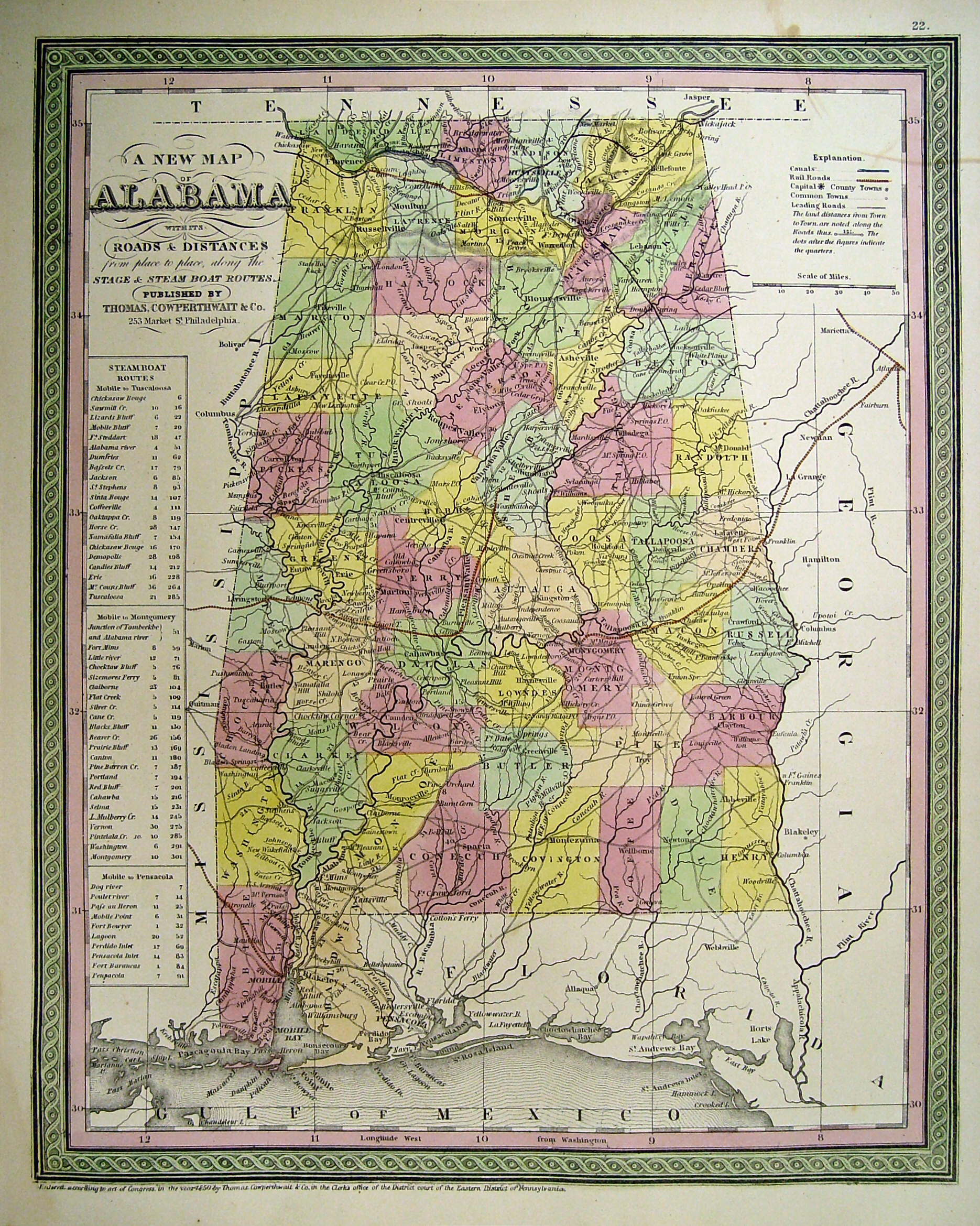 Alabama Maps. Alabama Digital Map Library. Table of Contents ...
