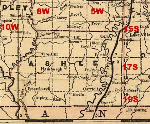 Arkansas Maps. Arkansas Digital Map Library. Table of Contents ...