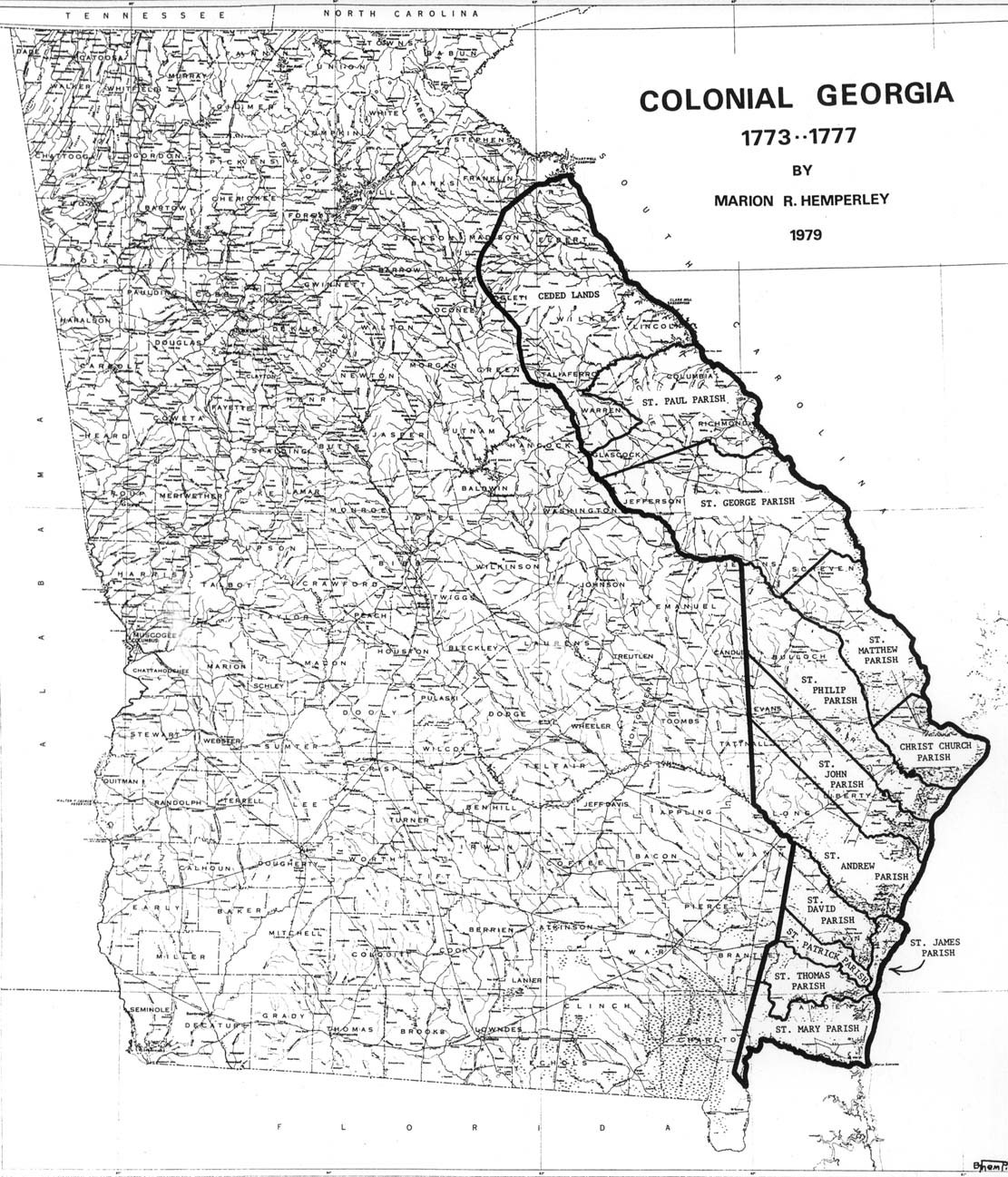 The USGenWeb Archives Digital Map Library Georgia Maps Index - Georgia maps