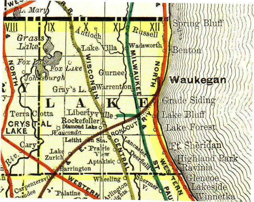 Lake County Illinois Genealogy Vital Records