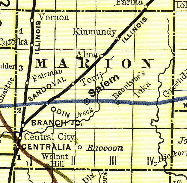 Illinois Divorce Records: Marion County, Illinois Genealogy: Vital Records