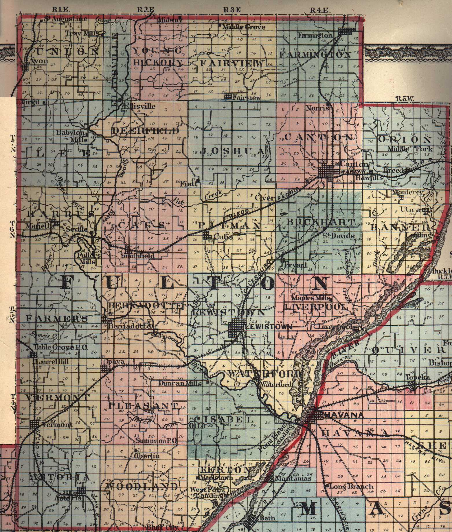 The USGenWeb Archives Digital Map Library - Illinois Maps Index.