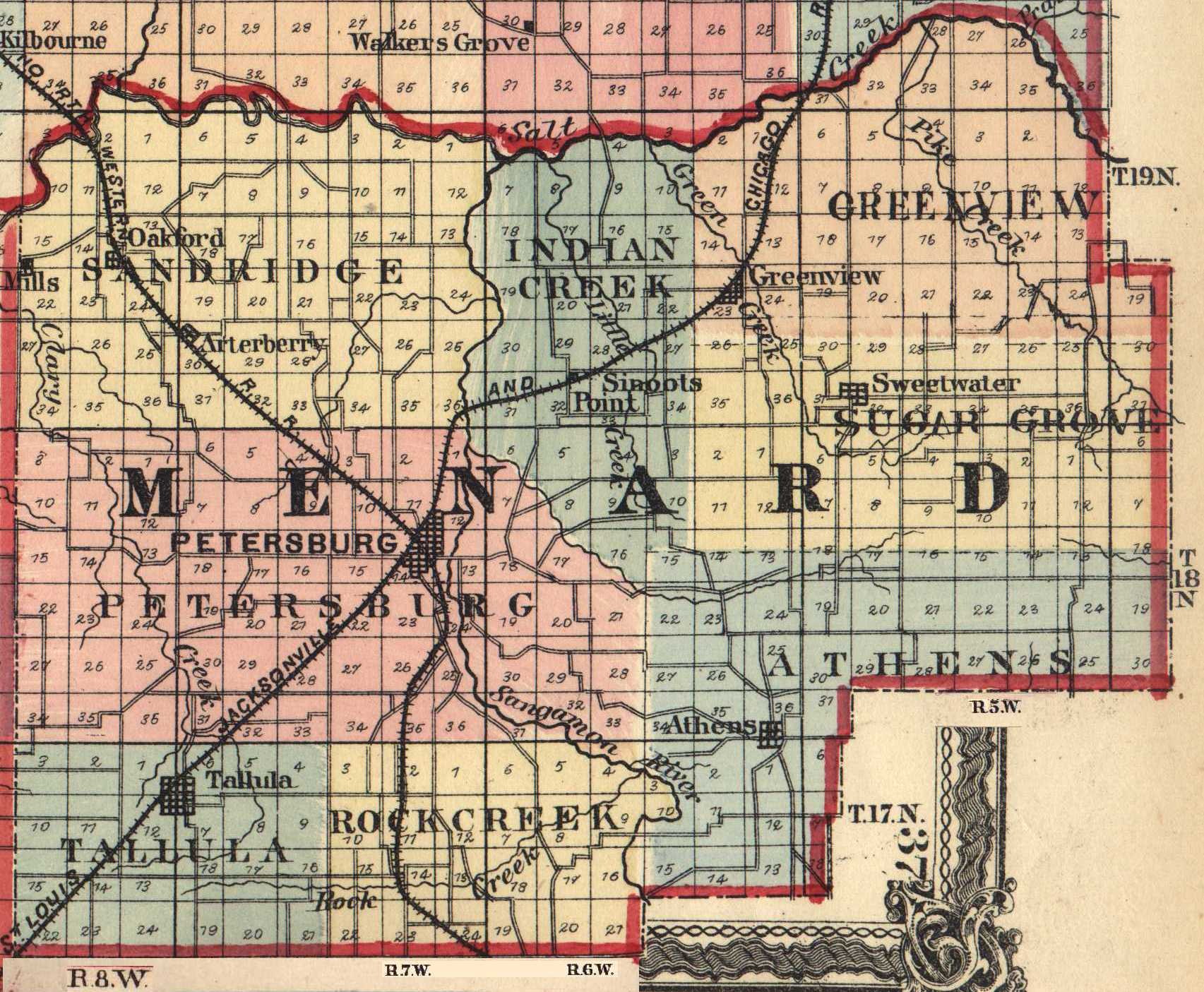 The Usgenweb Archives Digital Map Library Illinois Maps Index