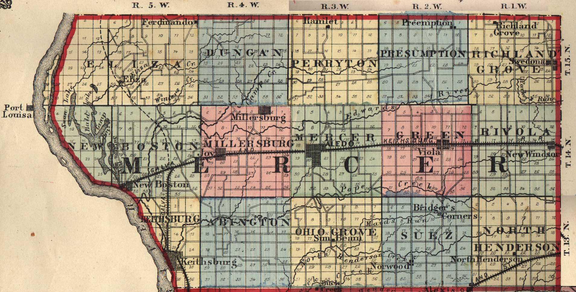 The USGenWeb Archives Digital Map Library Illinois Maps Index - Illinois maps