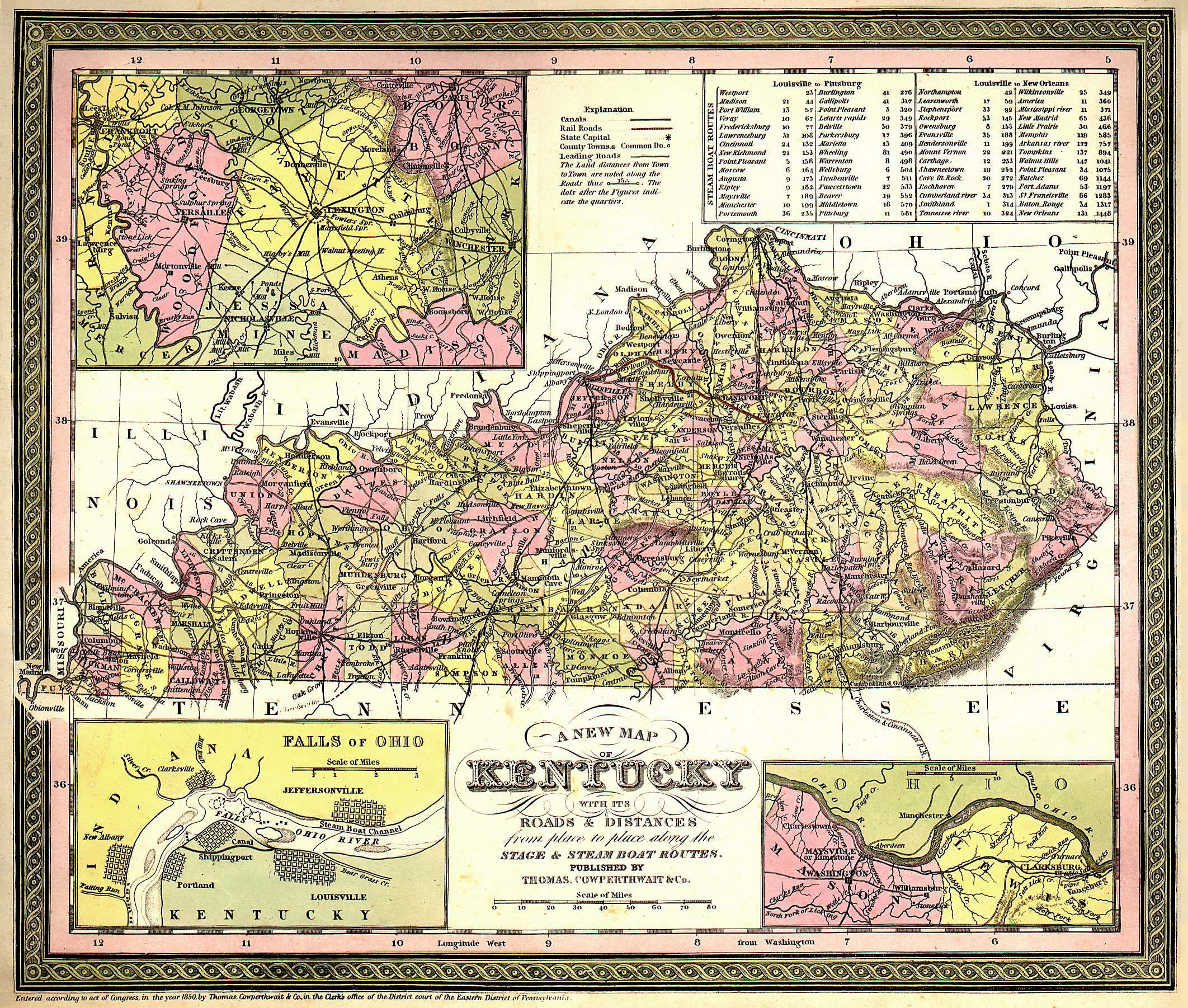 Kentucky Digital Map Library United States Digital Map Library - Map kentucky