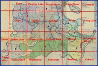 Louisiana Historical Maps