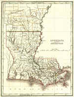 Louisiana Traffic Map.Louisiana Historical Maps