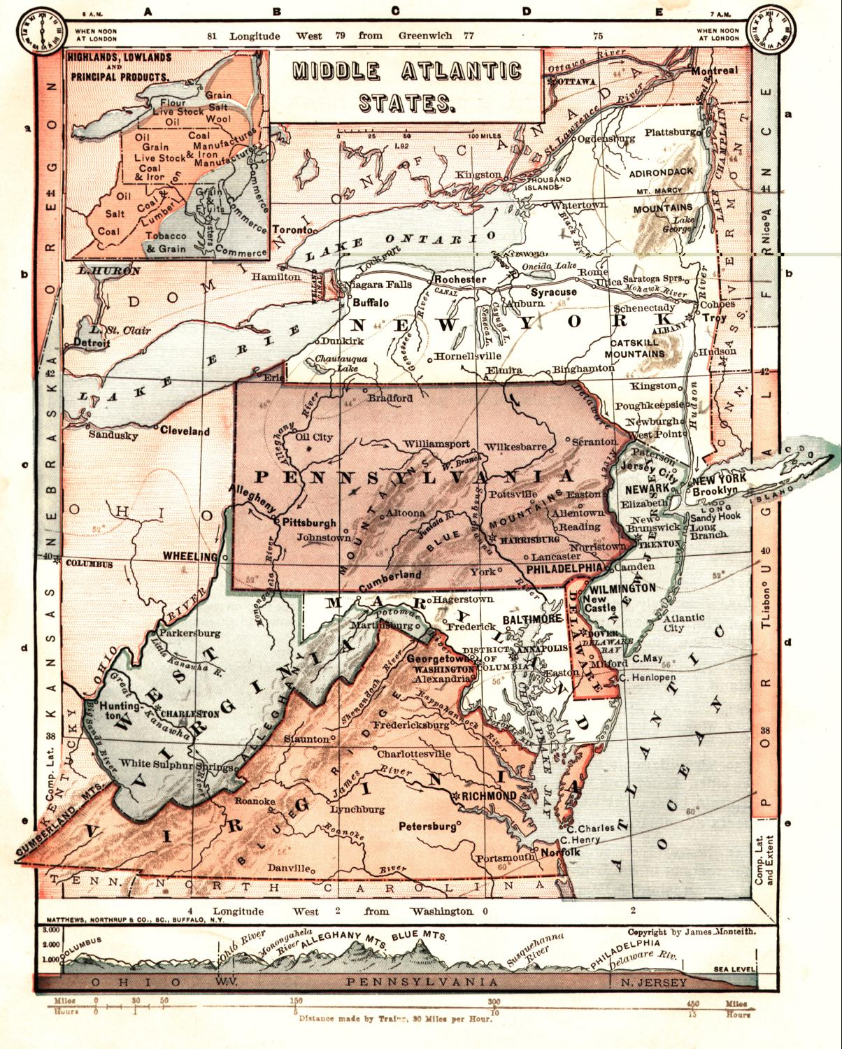 New Jersey Maps New Jersey Digital Map Library Table Of Contents - Map us 81