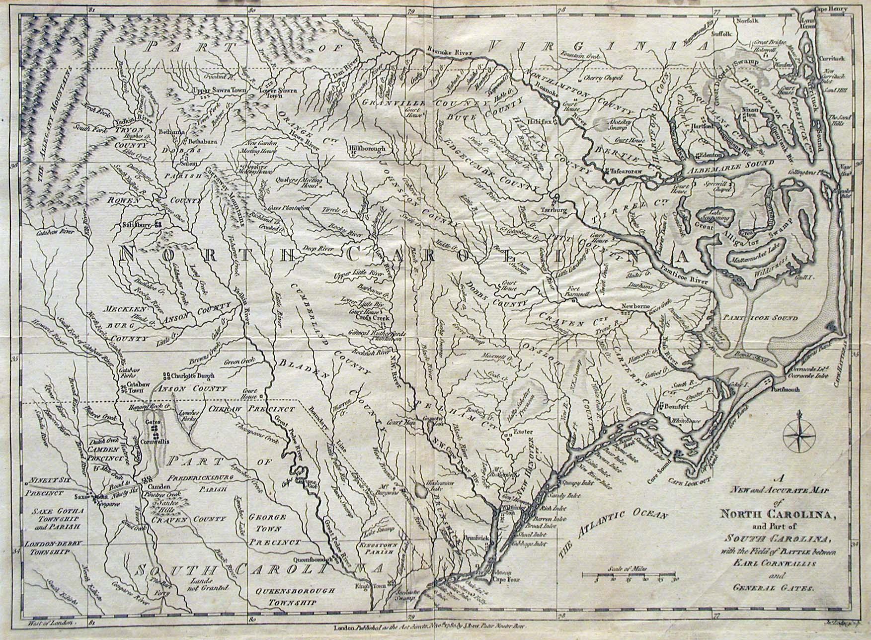 US GebWeb Digital Map Library - North Carolina