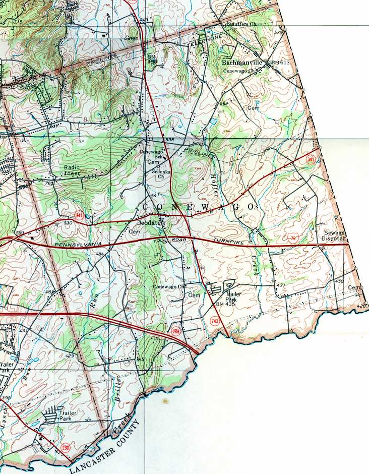 Dauphin County Pennsylvania Township Maps - Dauphin county on us map