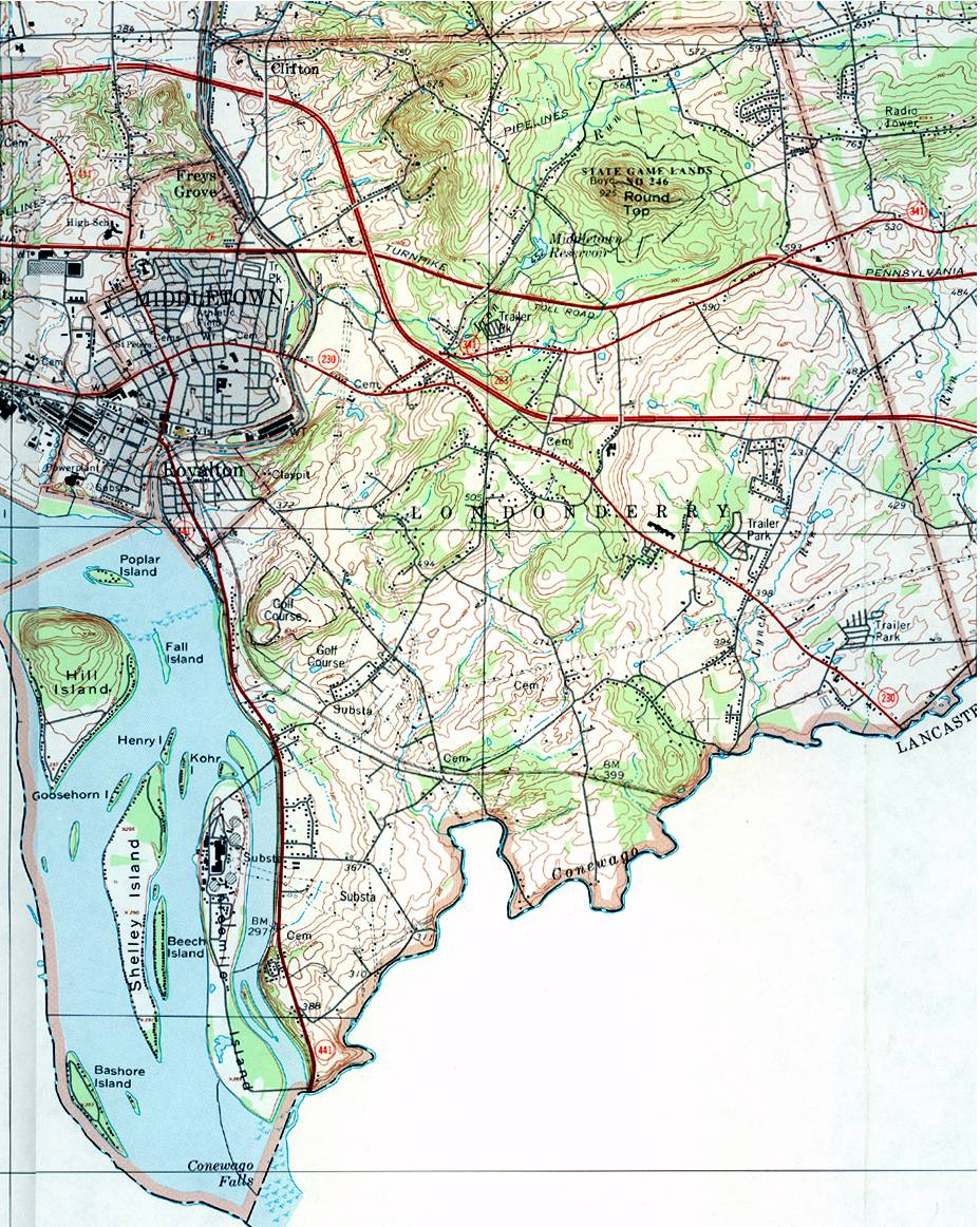 dauphin county pennsylvania township maps