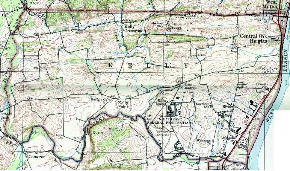 Union County Pennsylvania Township Maps