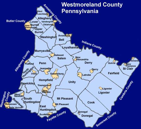 Westmoreland County Townships