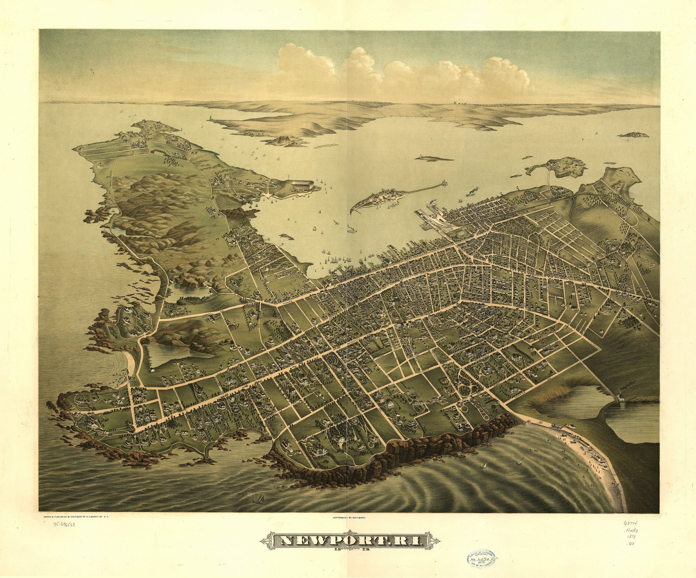 Rhode Island Maps Rhode Island Digital Map Library Table Of - Rhode island in usa map