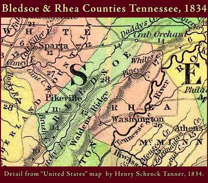Tennessee Maps Tennessee Digital Map Library Table Of Contents - Map of counties in tennessee