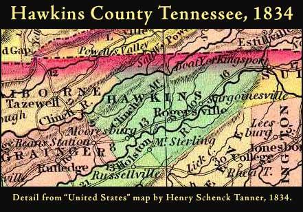 Hawkins County 1834 52k