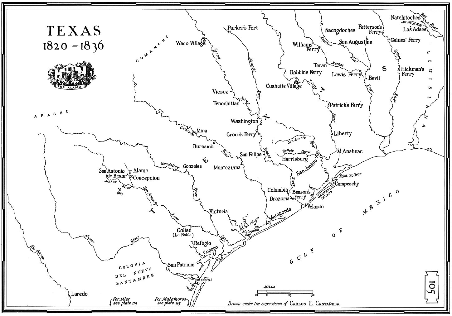 Map Of Texas 1836.Texas Maps Texas Digital Map Library Table Of Contents United