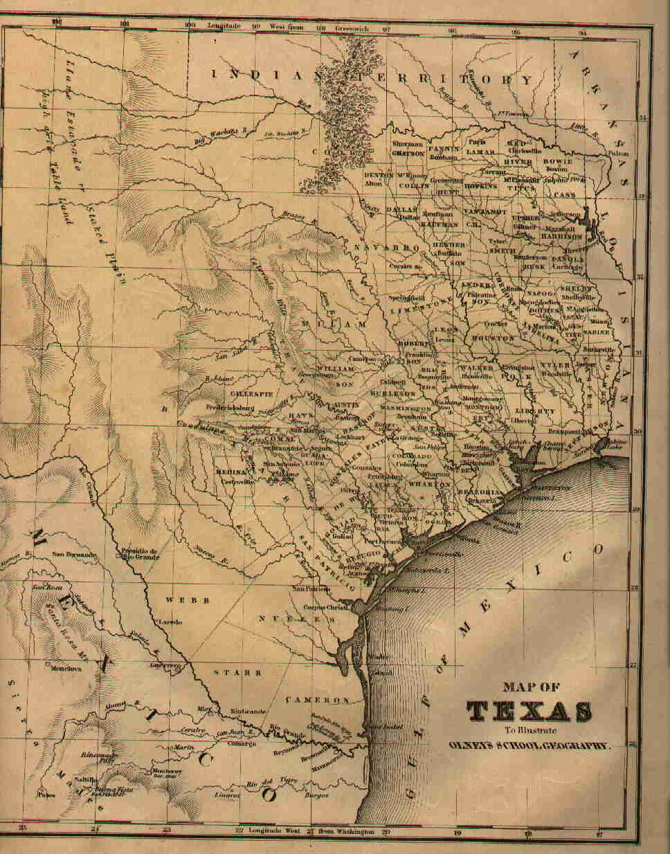 Texas Maps. Texas Digital Map Library. Table of Contents. United ...