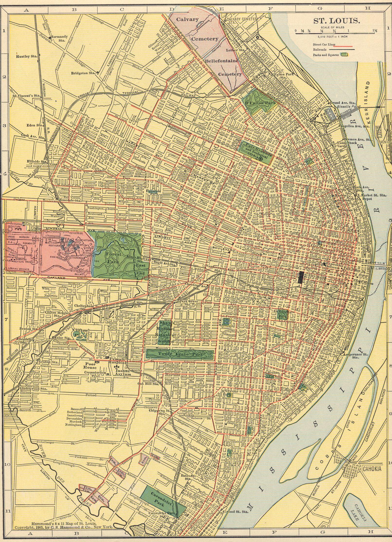 The USGenWeb Archives Digital Map Library Hammonds 1910 Atlas