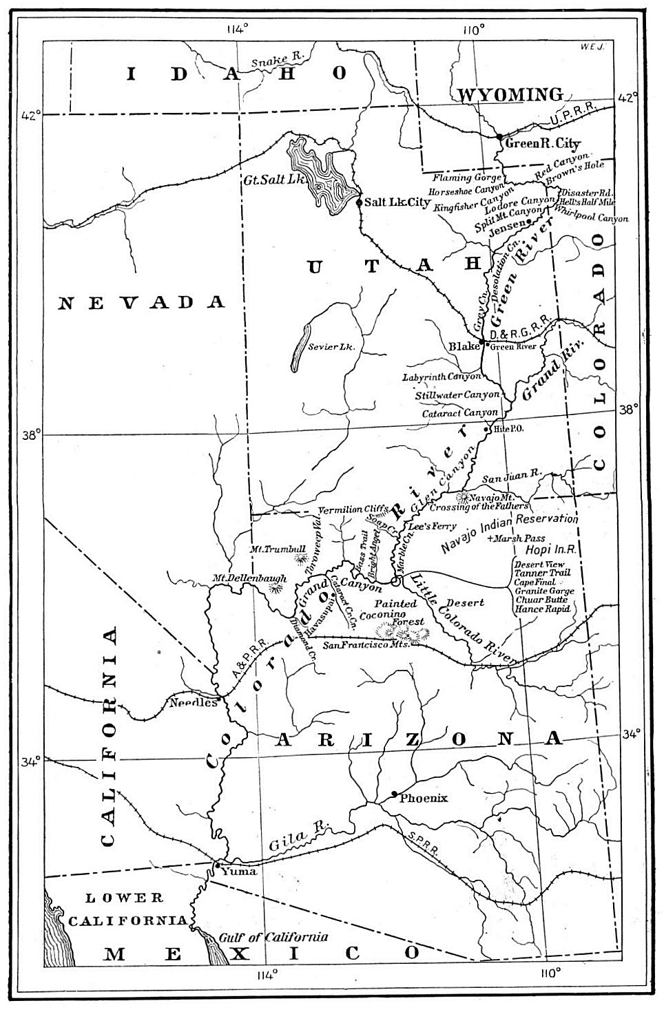 Remediation Plan Diagram moreover Maps furthermore Kofa Inn Parker in addition Mather C ground additionally Geog courses. on us map of colorado river