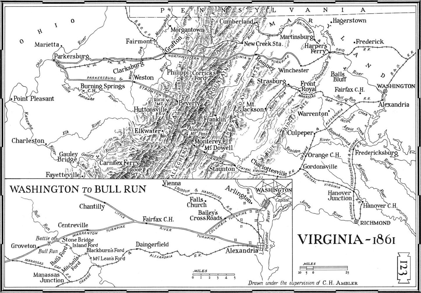 Map Of Virginia 1750.Virginia Maps Virginia Digital Map Library Table Of Contents