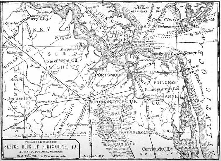 Portsmith Virginia Map.Virginia Maps Virginia Digital Map Library Table Of Contents