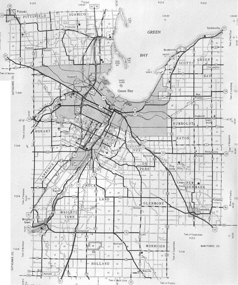 Wisconsin Maps Wisconsin Digital Map Library Table of Contents – Road Map Wisconsin