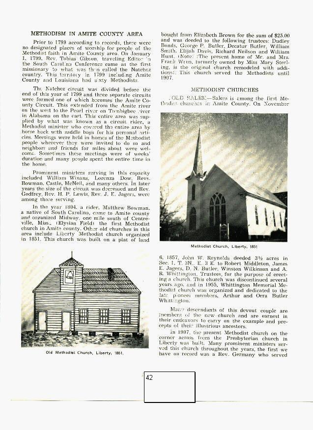Usgenweb Ms Archives Liberty And Amite Co Sesqui Centennial