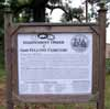 Clinton Odd Fellows Cemetery Sign