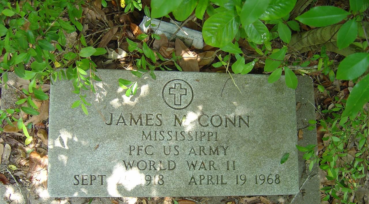Mississippi jackson county escatawpa - Conn James M