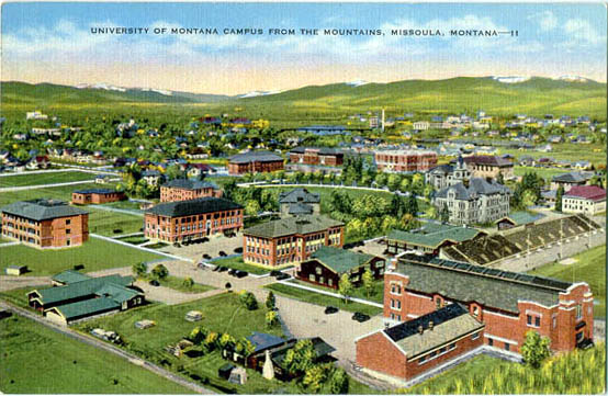 Penny Postcards From Missoula County Montana
