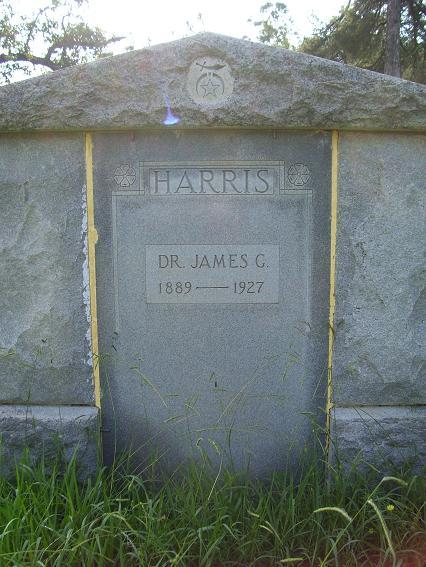 http://usgwarchives.net/ok/muskogee/cemeteries/tombstones/brusheymountcem/drjamesgharris.jpg