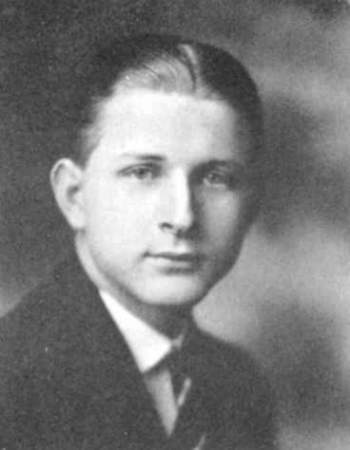 Eugene Souder >> 1922 Karux, Mercersburg Academy, Chambersburg, Franklin County, PA