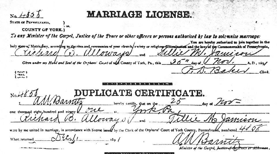 how to get a duplicate marriage license