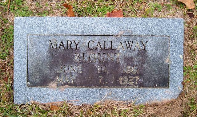 (bbo), Mary Callaway Blount (bbo)