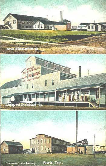 penny postcards from lamar county texas