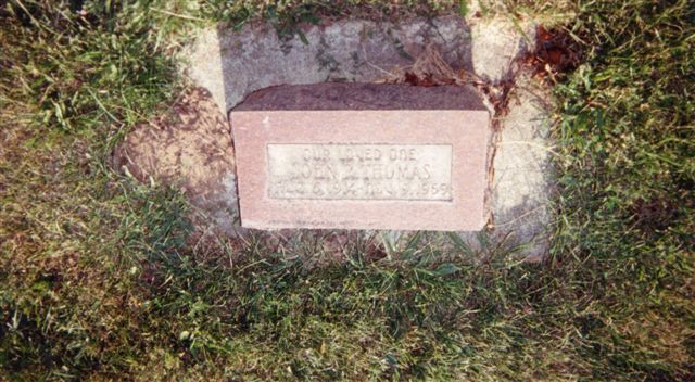 The USGenWeb Archives Project  Kittitas County, Washington Thorp Cemetery T
