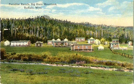 Main Street Auto >> Penny Postcards from Johnson County, Wyoming